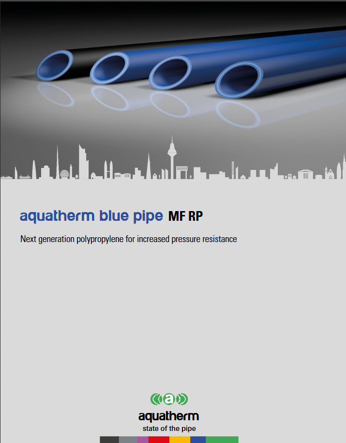 aquatherm blue pipe MF RP flyer