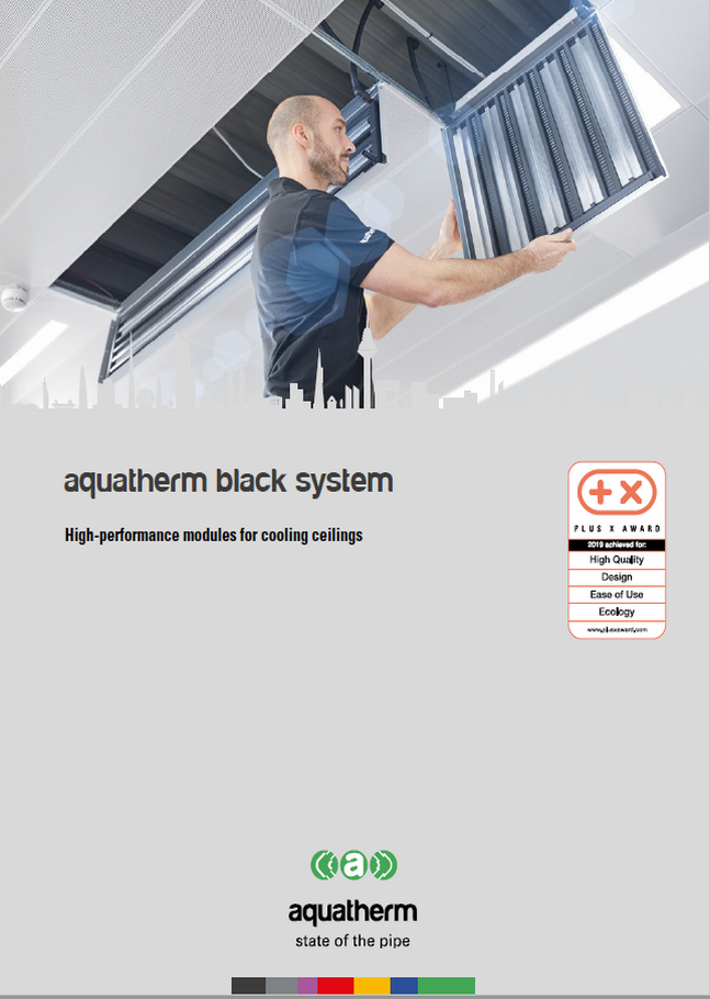 aquatherm black system high perfomance modules flyer